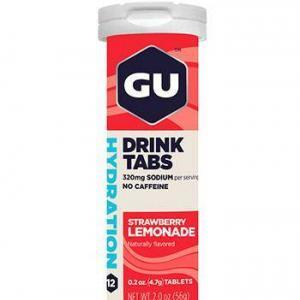GU Hydration Tabs Strawberry Lemon